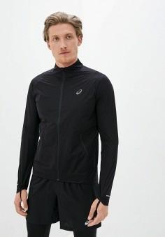 Ветровка, ASICS, цвет: черный. Артикул: AS455EMKAWC2. Одежда / Верхняя одежда / Легкие куртки и ветровки
