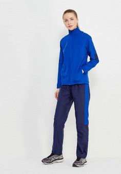 Костюм спортивный, ASICS, цвет: синий. Артикул: AS455EWZTJ61.