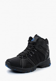 Ботинки трекинговые, Ascot, цвет: черный. Артикул: AS821AMUII61. Обувь / Ботинки / Высокие ботинки