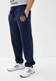 Брюки спортивные, Atributika & Club?, цвет: синий. Артикул: AT006EMIJXD3. Одежда / Брюки / Спортивные брюки