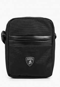 Сумка, Automobili Lamborghini, цвет: черный. Артикул: AU007BMHIMS7. Аксессуары / Сумки