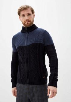 Кардиган, Auden Cavill, цвет: синий. Артикул: AU012EMIQXB5. Одежда / Джемперы, свитеры и кардиганы / Кардиганы