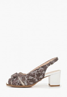 Босоножки, Balex, цвет: коричневый. Артикул: BA003AWDNGC0. Обувь / Обувь с увеличенной полнотой