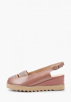 Босоножки, Balex, цвет: розовый. Артикул: BA003AWJBGJ1. Обувь / Обувь с увеличенной полнотой