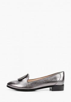 Лоферы, Balex, цвет: серебряный. Артикул: BA003AWJBGJ8. Обувь / Туфли / Лоферы