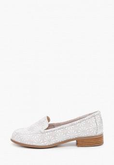 Лоферы, Balex, цвет: серый. Артикул: BA003AWJBGK5. Обувь / Туфли / Лоферы