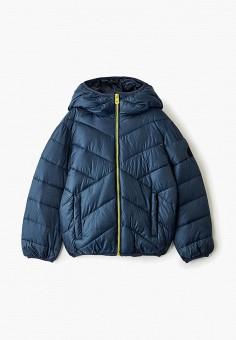 Куртка утепленная, Baon, цвет: синий. Артикул: BA007EBGCHB6. Мальчикам / Одежда / Верхняя одежда / Куртки и пуховики
