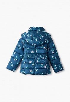 Пуховик, Baon, цвет: зеленый. Артикул: BA007EGKFZM8. Девочкам / Одежда / Верхняя одежда / Куртки и пуховики