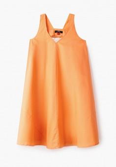 Платье, Baon, цвет: оранжевый. Артикул: BA007EKJDTI4. Девочкам / Одежда / Платья и сарафаны