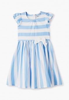 Платье, Baon, цвет: голубой. Артикул: BA007EKJHQE1. Девочкам / Одежда / Платья и сарафаны