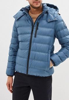 Пуховик, Baon, цвет: голубой. Артикул: BA007EMFZJU9. Одежда / Верхняя одежда / Пуховики и зимние куртки / Пуховики