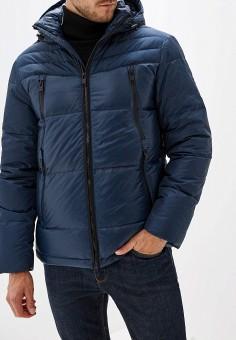 Пуховик, Baon, цвет: синий. Артикул: BA007EMFZJV0. Одежда / Верхняя одежда / Пуховики и зимние куртки / Пуховики