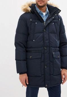 Пуховик, Baon, цвет: синий. Артикул: BA007EMGDCO2. Одежда / Верхняя одежда / Пуховики и зимние куртки
