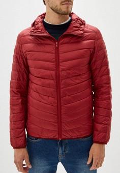 Пуховик, Baon, цвет: красный. Артикул: BA007EMGDCO6. Одежда / Верхняя одежда / Пуховики и зимние куртки / Пуховики