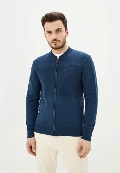 Кардиган, Baon, цвет: синий. Артикул: BA007EMIHGW0. Одежда / Джемперы, свитеры и кардиганы / Кардиганы