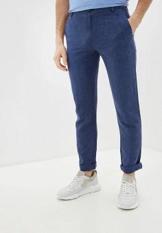 Брюки, Baon, цвет: синий. Артикул: BA007EMIHKQ2. Одежда / Брюки / Повседневные брюки