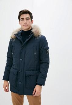 Куртка утепленная, Baon, цвет: синий. Артикул: BA007EMKFZO7. Одежда / Верхняя одежда / Пуховики и зимние куртки