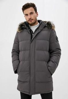 Пуховик, Baon, цвет: серый. Артикул: BA007EMKFZP4. Одежда / Верхняя одежда / Пуховики и зимние куртки