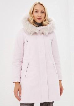 Парка, Baon, цвет: розовый. Артикул: BA007EWCLBM0. Одежда / Верхняя одежда / Парки