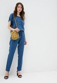 Комбинезон, Baon, цвет: синий. Артикул: BA007EWDXCF3. Одежда / Комбинезоны