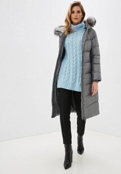 Пуховик, Baon, цвет: серый. Артикул: BA007EWFZEM6. Одежда / Верхняя одежда / Пуховики и зимние куртки / Пуховики
