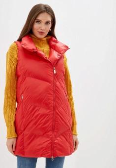 Жилет утепленный, Baon, цвет: красный. Артикул: BA007EWFZFD8. Одежда / Верхняя одежда / Жилеты