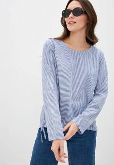 Блуза, Baon, цвет: синий. Артикул: BA007EWIHEG9. Одежда / Блузы и рубашки