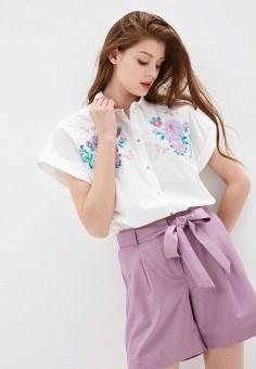 Рубашка, Baon, цвет: белый. Артикул: BA007EWIHEH7.