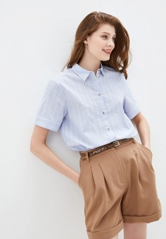 Рубашка, Baon, цвет: голубой. Артикул: BA007EWIHEI0.