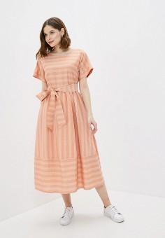 Платье, Baon, цвет: розовый. Артикул: BA007EWIHFI5.