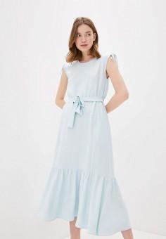 Платье, Baon, цвет: голубой. Артикул: BA007EWIHGE2. Одежда / Платья и сарафаны