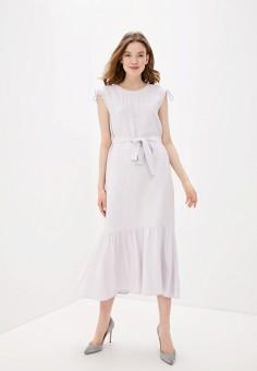 Платье, Baon, цвет: фиолетовый. Артикул: BA007EWIHGE3.