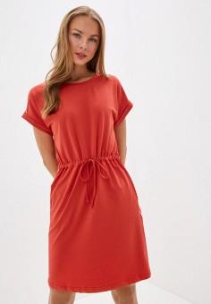 Платье, Baon, цвет: красный. Артикул: BA007EWIHGG4.