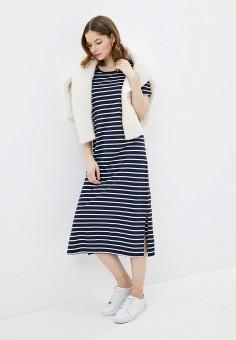 Платье, Baon, цвет: синий. Артикул: BA007EWIHGH1.