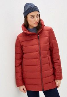 Куртка утепленная, Baon, цвет: коричневый. Артикул: BA007EWINFI3. Одежда / Верхняя одежда / Демисезонные куртки