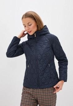 Куртка утепленная, Baon, цвет: синий. Артикул: BA007EWINFI4. Одежда / Верхняя одежда / Демисезонные куртки