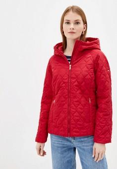 Куртка утепленная, Baon, цвет: красный. Артикул: BA007EWINFI5. Одежда / Верхняя одежда / Демисезонные куртки