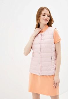 Жилет утепленный, Baon, цвет: розовый. Артикул: BA007EWINFL8. Одежда / Верхняя одежда / Жилеты