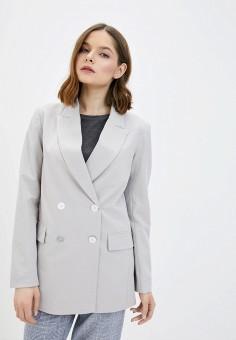 Пиджак, Baon, цвет: серый. Артикул: BA007EWIRZC0.