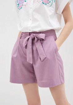 Шорты, Baon, цвет: фиолетовый. Артикул: BA007EWIRZH9. Одежда / Шорты