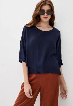 Блуза, Baon, цвет: синий. Артикул: BA007EWIVXN9.