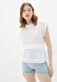 Блуза, Baon, цвет: белый. Артикул: BA007EWJDUU8.