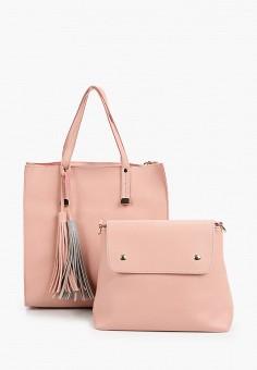 Комплект, Baggini, цвет: розовый. Артикул: BA039BWIMXO7. Аксессуары / Сумки