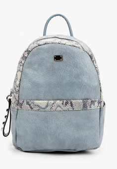 Рюкзак, Baggini, цвет: голубой. Артикул: BA039BWIMXS9. Аксессуары / Рюкзаки / Рюкзаки