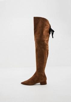 Ботфорты, Ballin, цвет: коричневый. Артикул: BA051AWIMOS3. Обувь / Сапоги / Ботфорты