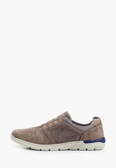 Ботинки, Bata, цвет: коричневый. Артикул: BA060AMIPOM6. Обувь / Ботинки / Низкие ботинки