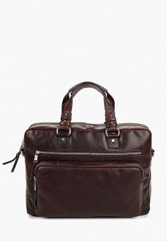 Портфель, Bata, цвет: коричневый. Артикул: BA060BMEALO9. Аксессуары / Сумки