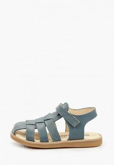 Сандалии, Barritos, цвет: синий. Артикул: BA065ABIMOL9. Мальчикам / Обувь