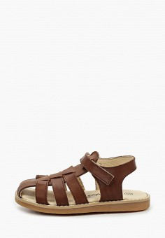 Сандалии, Barritos, цвет: коричневый. Артикул: BA065ABJAQK6. Мальчикам / Обувь