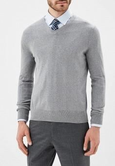 Пуловер, Banana Republic, цвет: серый. Артикул: BA067EMAJVS9. Одежда / Джемперы, свитеры и кардиганы / Джемперы и пуловеры
